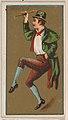 Irish Jig, from National Dances (N225, Type 1) issued by Kinney Bros. MET DPB874499.jpg
