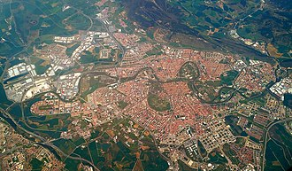 Pamplona - Aerial view of Pamplona, 2017