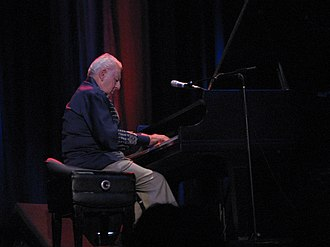 Irving Fields - Fields playing at a concert of Canadian musician Socalled in 2005