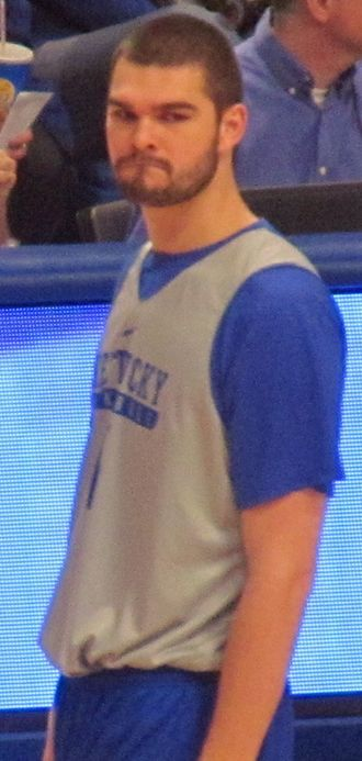 Isaac Humphries - Humphries with Kentucky in October 2016