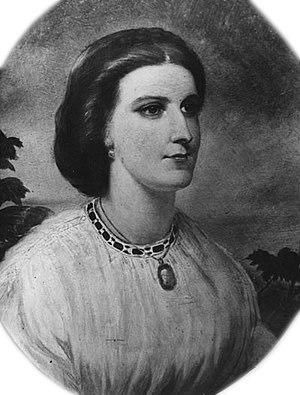 Isabel Burton - Lady Isabel Burton, 1861