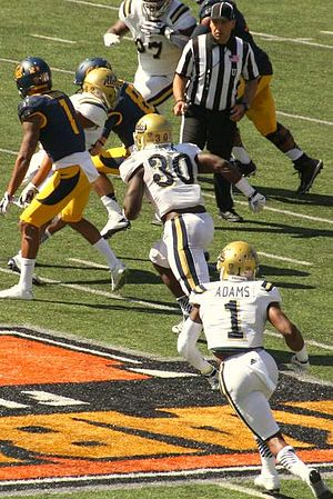 2014 UCLA Bruins football team - Defensive back Ismael Adams (No. 1) was named first-team All-Pac-12