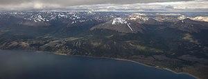 Isla Grande de Tierra del Fuego - View of a part of Tierra del Fuego