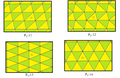 Isohedral triangular tilings.png