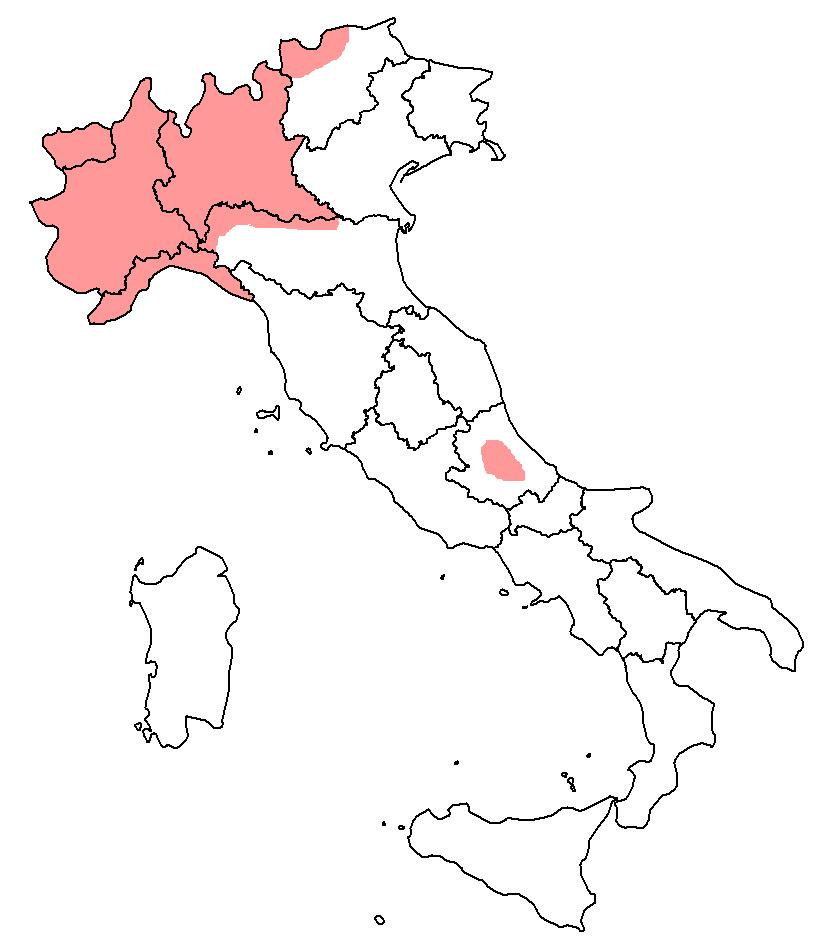 Italy round anterior vowels