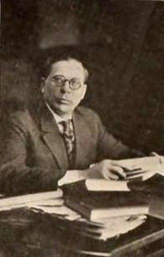Ivan Abramson - Abramson in 1920