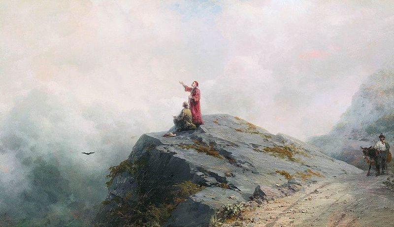 File:Ivan Aivazovsky - Dante Shows an Artist Some Unusual Clouds 01.jpg