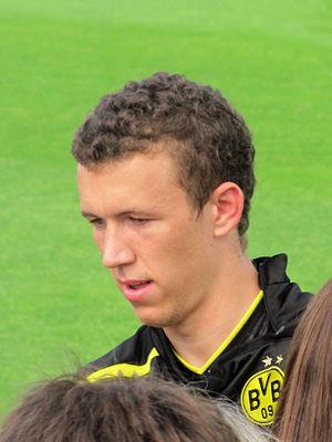 Ivan Perišić - Perišić at Borussia Dortmund in 2012