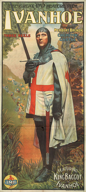 Universal Pictures - Poster for Ivanhoe (1913)