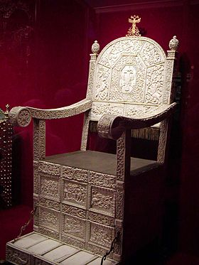 The Ivory Throne of Tsar Ivan IV of Russia. Ivans ivory throne.jpg