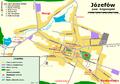 Józefów (pow. biłgorajski) - Plan miasta.png