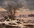 J.C. Dahl - Winter Landscape near Vordingborg, Denmark - Google Art Project.jpg