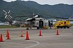 JMSDF SH-60K(8410) right rear view at Maizuru Air Station May 18, 2019 04.jpg