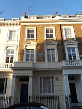 95 Cambridge Street, London, tempat yang ditinggali Kenyatta di London tahun 1933-1937.