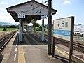 JRShikoku-Mugi-line-M05-Chuden-station-platform-20100803.jpg