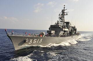 JS <i>Shimayuki</i> Hatsuyuki-class destroyer