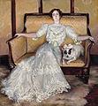 JVP 1905 Retrato de dama con perro.jpg