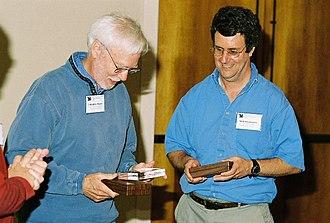 Matt Kaufmann - Matt Kaufmann (right) with J Strother Moore 2006