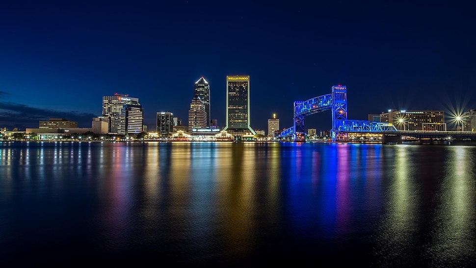 Jacksonville at Night (39527326802)