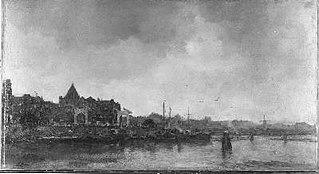 Prins Hendrikkade met de Schreierstoren
