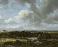 Jacob van Ruisdael - View of Bleaching Fields of Family De Mol in Bloemendaal.jpg