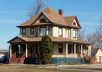 National Register of Historic Places listings in Payette County, Idaho - Image: Jacobsen House Payette Idaho