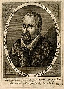 Jacobus Zabarella. Line engraving by C. Ammon, 1652. Wellcome V0006406.jpg