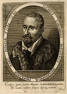 Jacobus Zabarella. Line engraving by C. Ammon, 1652. Wellcome V0006406.jpg