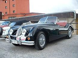 Elegant Jaguar XK 140, 1954.JPG
