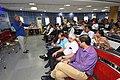 Jahar Das Talking on - Quality Measures in Sports Fitness and Training - SPORTSMEDCON 2019 - SSKM Hospital - Kolkata 2019-03-17 3371.JPG
