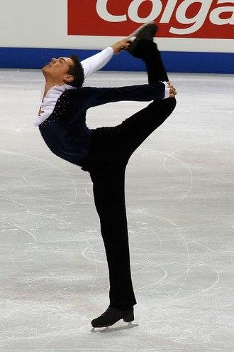 Camel spin - Image: Jamal Othman Spin 2006 Skate Canada