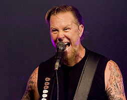 James Hetfield, 15 September 2008.