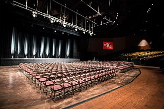 Knight Center Complex - Image: James L. Knight Center Theater Floor View
