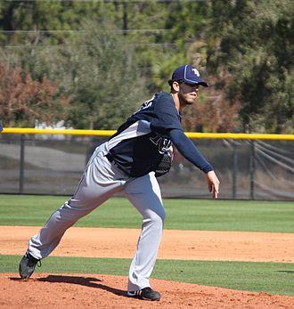 James Shields (baseball) - Shields during 2010 spring training.