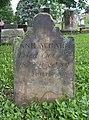 Jane McCall Tombstone, Oak Spring Cemetery, 2015-06-27, 02.jpg