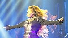 Janet Jackson in concerto nel novembre del 2015 a Honolulu