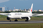 Japan Airlines, B777-300, JA8945 (21539859850).jpg