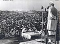 Jawaharlal Nehru at the Faridabad Camp for displaced persons.jpg