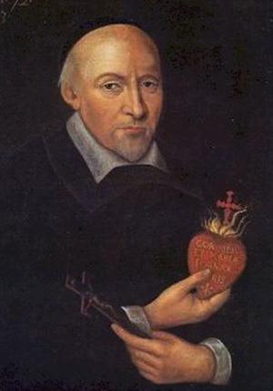 John Eudes - Portrait of Saint John Eudes - 1673.