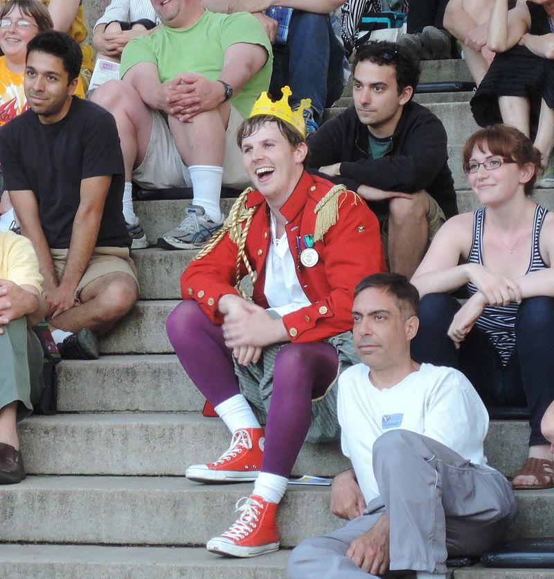 Jeering Claudius in Hamlet CWoWS HWTC 2013Jun15 jeh.jpg