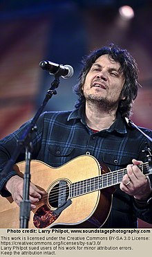 Jeff Tweedy at Farm Aid, 2010, see attribution