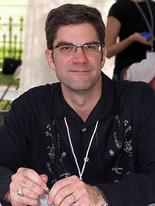 Jeff Abbott at the 2007 Texas Book Festival.