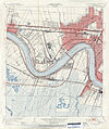 Jefferson Parish Louisiana Riverfront New Orleans Map 1951.jpg
