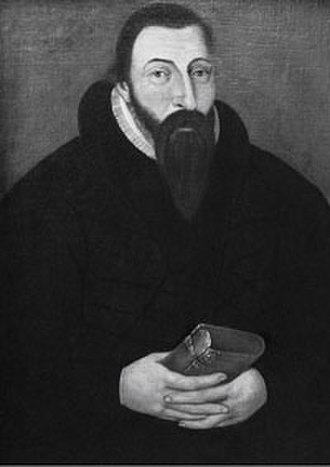 Jens Nilssøn - A portrait traditionally believed to be Jens Nilssøn, although it is now considered likely to be his successor as Bishop, Anders Bendssøn Dall