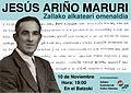 Jesus Ariño Maruri alkate ohiaren omenaldiaren kartela.jpg