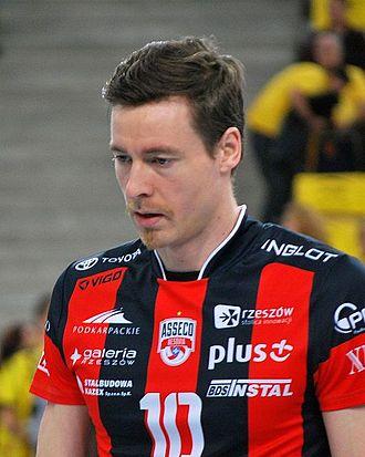 2014–15 PlusLiga - Most Valuable Player of 2014–15 PlusLiga season - German opposite spiker Jochen Schöps.