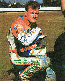 Joe Screen British speedway rider