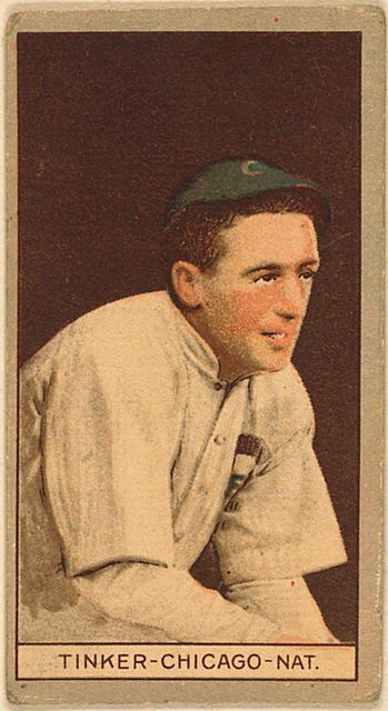 Joe Tinker (baseball card - 1912)