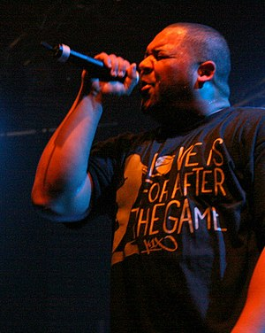 Joell Ortiz - Ortiz performing in Amager Bio, Denmark in 2007.