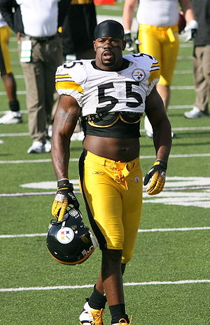 Joey Porter - Porter with the Steelers in 2006